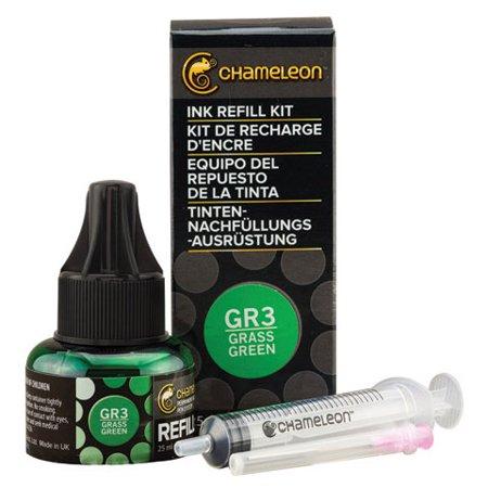 Brass Tone Olive (Chameleon Color Tones Ink Refill Kit, Olive Green OL3 25ml )
