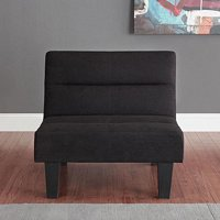 DHP Kebo Accent Chair with Microfiber Cover, Multiple Colors