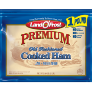 Land O'Frost Premium Old Fashioned Cooked Ham Lunchmeat, Sliced Thin 16oz