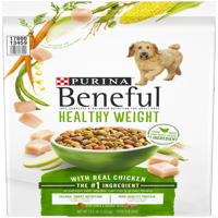 Purina Beneful Healthy Weight With Real Chicken Adult Dry Dog Food - 15.5 lb. Bag