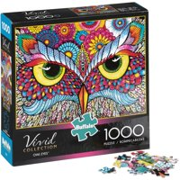 Buffalo Games Vivid Collection Owl Eyes 1,000 Piece Jigsaw Puzzle