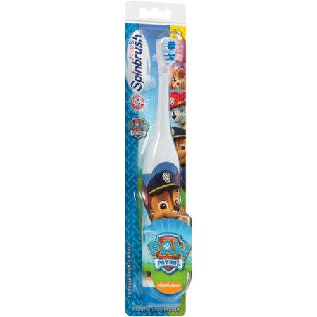 Arm & Hammer Paw Patrol Spinbrush (Crest Spinbrush Whitening Toothbrush)