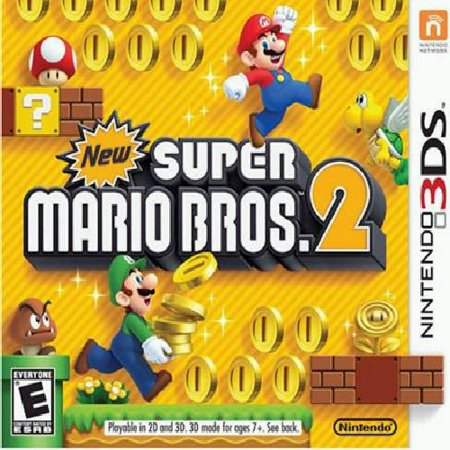 New Super Mario Bros 2, Nintendo, Nintendo 3DS, 045496742072 - Two Bros
