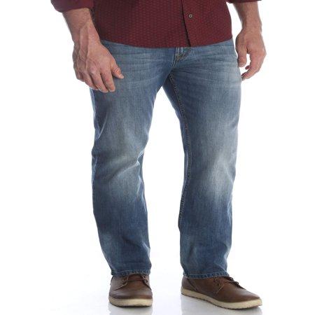Men's Slim Straight Jean (Orange Logo Jeans)