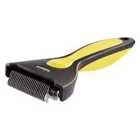 Oster ShedMonster Less Stress Dog De-Shedding Tool for Long Coats (DRP-SHED-RPQL)