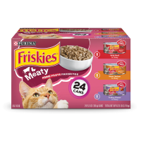 Friskies Prime Filets Meaty Favorites Adult Wet Cat Food Variety Pack - (24) 5.5 oz. Cans