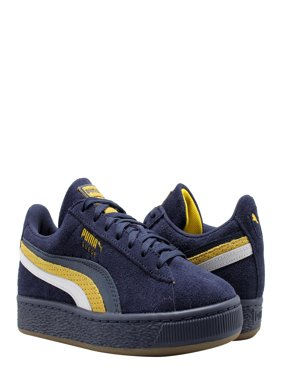 2ac6516bd145f4 Product Image Puma Suede Classic 3FS Peacoat-Yellow-Puma White Men s Casual  Sneakers 36783701