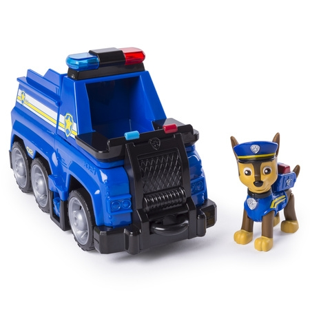 PAW Patrol Ultimate Rescue - Chase's Ultimate Rescue Police Cruiser with Lifting Seat and Fold-out Barricade, for Ages 3 and Up](Paw Patrol Masks)