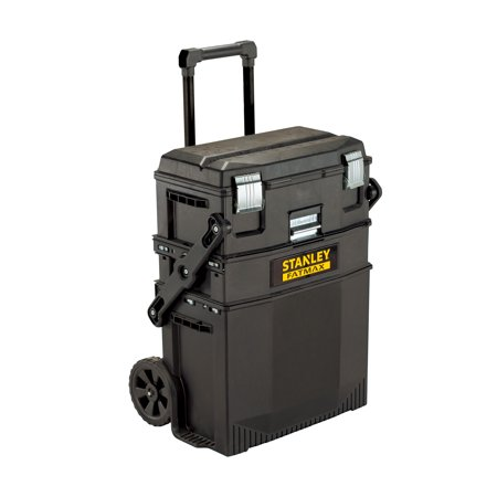 STANLEY FATMAX 020800R 4-in-1 Mobile Work Station 26 Inch Steel Tool Box