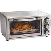 Hamilton Beach Stainless Steel 6 Slice Toaster Oven   Model# 31511