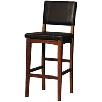 Linon Milano Bar Stool, 30 inch Seat Height, Multiple Colors