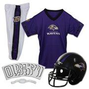 c000955789493 Franklin Sports NFL Baltimore Ravens Youth Licensed Deluxe Uniform Set