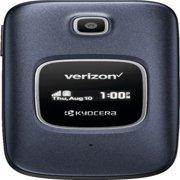 Verizon Kyocera Cadence Prepaid Cell Phone 16GB, Black
