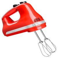 KitchenAid 5-Speed Ultra Power Hand Mixer Empire Red (KHM512ER)