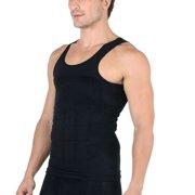 4ae7675e8c062 Men s Body Shaper Vest Shirt Abs Abdomen Slim Compression Slimming  Undershirt ...