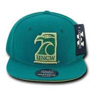 fef2efd710c3df UNCW UNC Wilmington Seahawks NCAA Flat Bill Snapback Baseball Ball Hat Cap  Hats