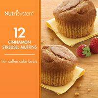 Nutrisystem Morning Mindset Cinnamon Streusel Muffins, 1.8 Oz, 12 Ct