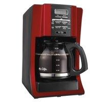 Mr. Coffee Advanced Brew 12-Cup Programmable Coffee Maker, Red (BVMC-SJX36GT)