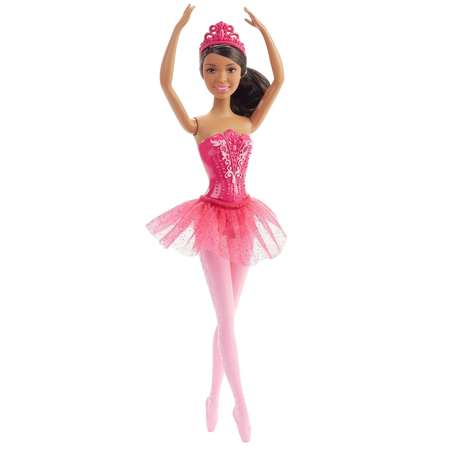 Barbie Ballerina Nikki Doll with Pink Tutu & Removable Tiara - Barbie Cheerleading