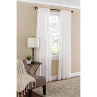 Product Image Mainstays Textured Solid Curtain Panel