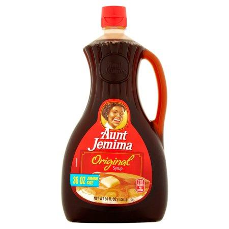 (2 Pack) Aunt Jemima Original Syrup, Jumbo Size, 36 fl oz ()