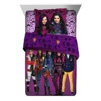 Descendants Kids Bedding 2Pc Comforter & Sham Set, Twin/Full, Reversible, Best of Both Worlds