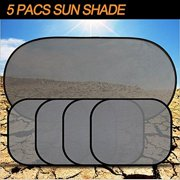 Car Sun Shade  SET of 5  for Windows Car Visor Protect Your Kids and bec2d3136a50