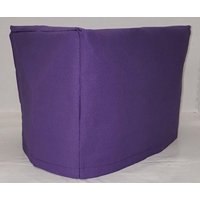 Canvas Toaster Cover (15 Colors Available) (2-Slice, Purple)