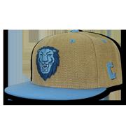 f68a00033d4c0 NCAA Columbia University Lions 6 Panel Constructed Heavy Jute Snapback Caps  Hats