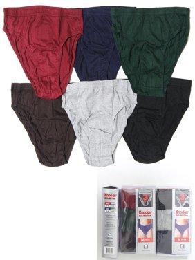 e11243d57e8a Product Image 6 Pack Mens Bikinis Briefs Underwear 100% Cotton Solid Knocker  Size Medium 32-34