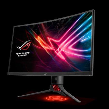 "ASUS ROG Strix 27"" XG27VQ Curved Full HD 1080p, 144Hz, DP, HDMI, DVI, Eye Care Gaming Monitor](asus asus rog pg278q swift 27 g sync)"