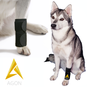 cf0b6d4e10 Agon® Dog Canine Front Leg Brace Paw Compression Wraps With Protects Wounds  Brace Heals and
