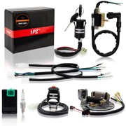 1pz wh1-d01 wire harness wiring loom cdi coil spark plug rebuild kit for  kick