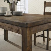Coaster Company Coleman Rustic Dining Table, Rustic Golden Brown