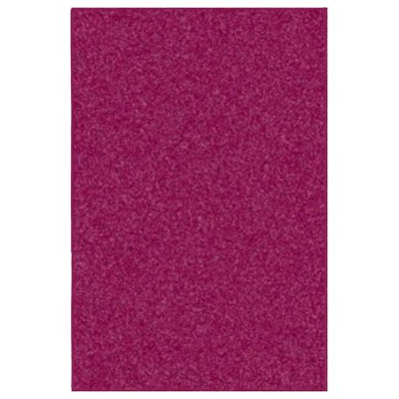American Bright Solid Color Area Rugs Cranberry 14 X20 Walmart Com