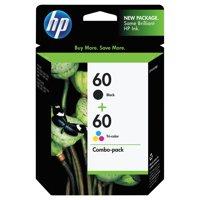 HP 60, (N9H63FN) Black/Tri-Color 2-pack Original Ink Cartridges