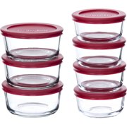 Anchor Hocking 14-Piece Food Storage VP with Red Lids