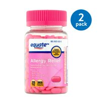 Equate Allergy Relief Tablets, 25 mg, 365 count