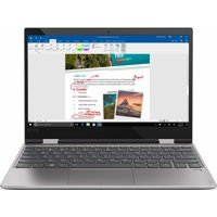 """Lenovo - Yoga 720 12.5"""" Touch-Screen Laptop - Intel Core i3 - 4GB Memory - 128GB Solid State Drive - Platinum 81B5001HUS Notebook Tablet"""