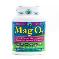 Aerobic Life Mag O7 Oxygen Detox Colon Cleanse 90 Veg Caps
