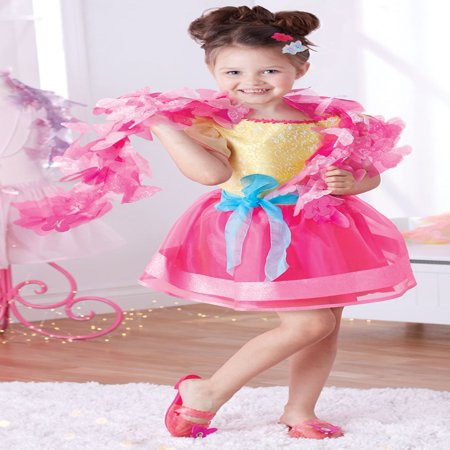 Fancy Nancy Signature Dress-up Dress (Zombie Costumes For Girl)