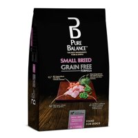 Pure Balance Grain-Free Small Breed Chicken & Garden Vegetables, Dry Dog Food, 11 lb
