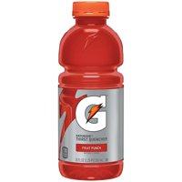 Gatorade Thirst Quencher Sports Drink, Fruit Punch, 20 oz Bottles, 12 Count