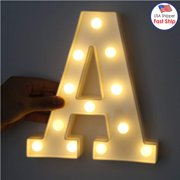 amzer decorative led illuminated letter marquee sign alphabet marquee letters with lights for wedding birthday
