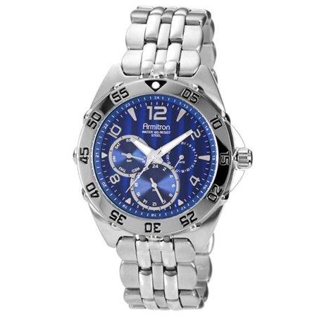 Men's Stainless Steel Sport Watch, Stainless Steel Bracelet