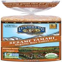 (2 Pack) Lundberg Organic Rice Cakes, Caramel Corn, 9.4 Oz