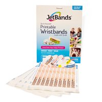 JetBands DIY Inkjet Printable Tyvek Wristbands - 100 Count