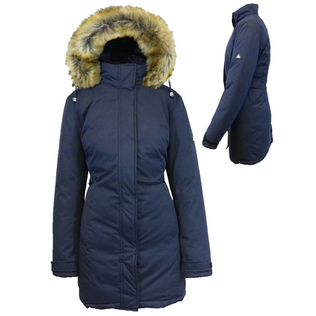 Safety Heavyweight Parka Jacket (Women's Heavyweight Parka Jacket With Detachable)