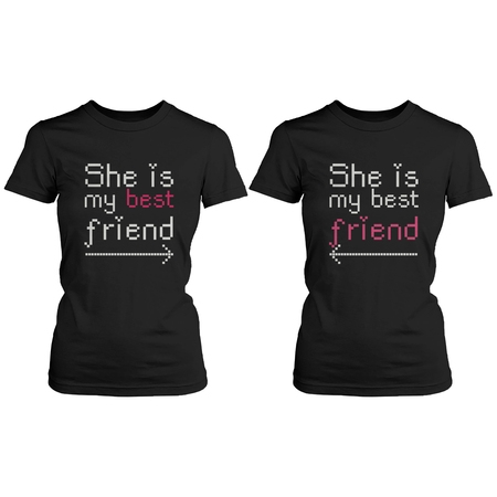 BFF Matching Shirts - She's My Best Friend with Arrows - Gift for
