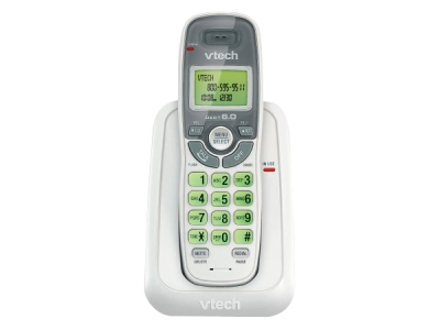 Bluetooth Digital Cordless Phone - VTech CS6114 DECT 6.0 Cordless Phone System (without Digital Answering System)